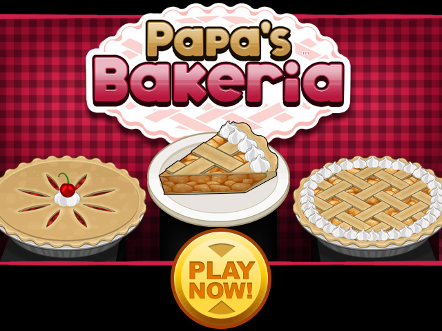 Papa S Bakeria Free Flash Game Flipline Studios