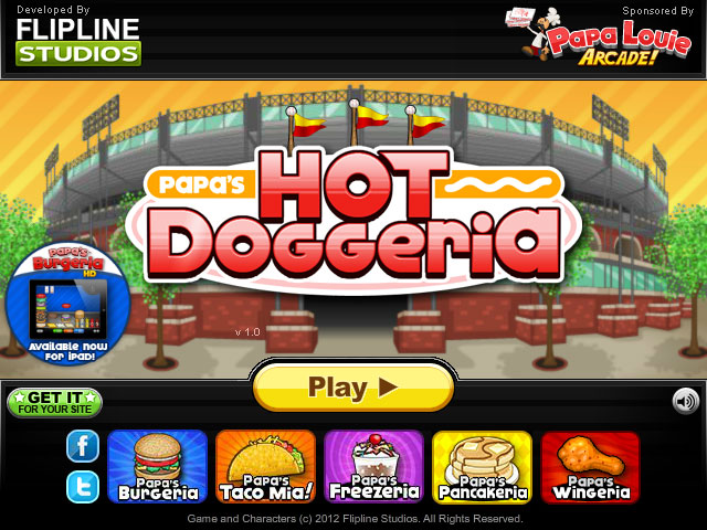 Papa's Hot Doggeria | Screenshots | Flipline Studios
