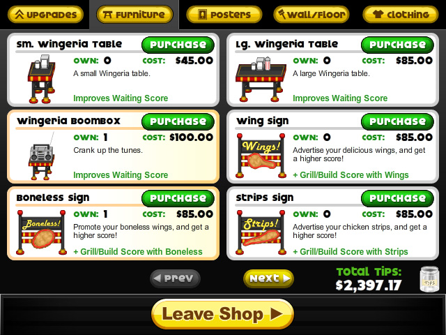 papas wingeria screenshot 4
