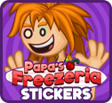 Papa�s Freezeria Stickers!