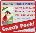 Papa's Pizzeria HD coming next week!