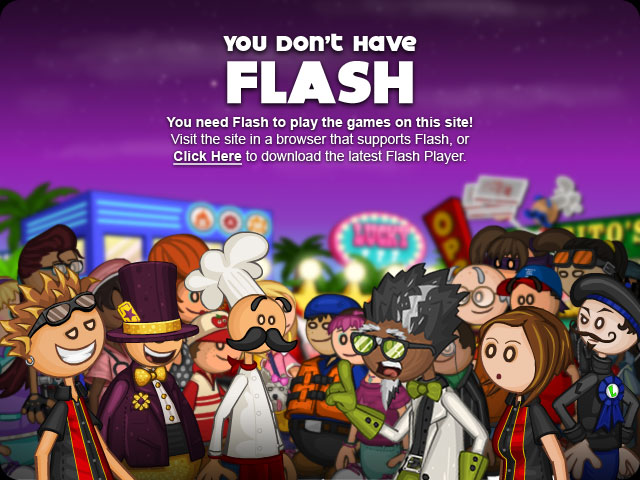 You need Flash