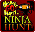 Monkey Go Happy: Ninja Hunt
